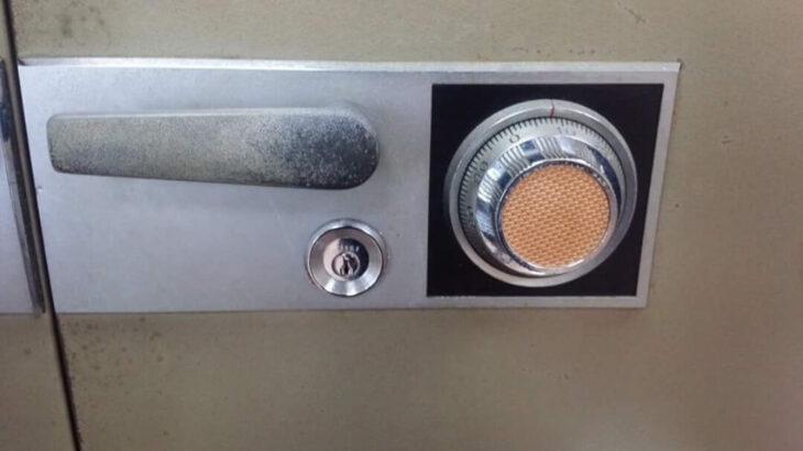コクヨ「KOKUYO」製の業務用金庫の鍵開け・ダイヤル解錠に出張