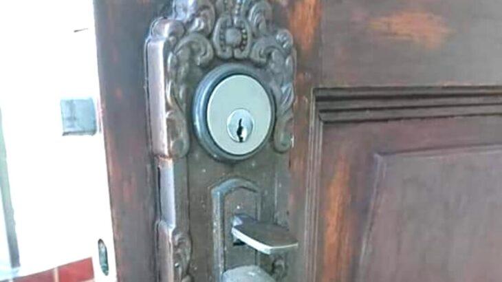 技研のサムラッチ錠をMIWA製へ全交換 ドアを交換する必要はない