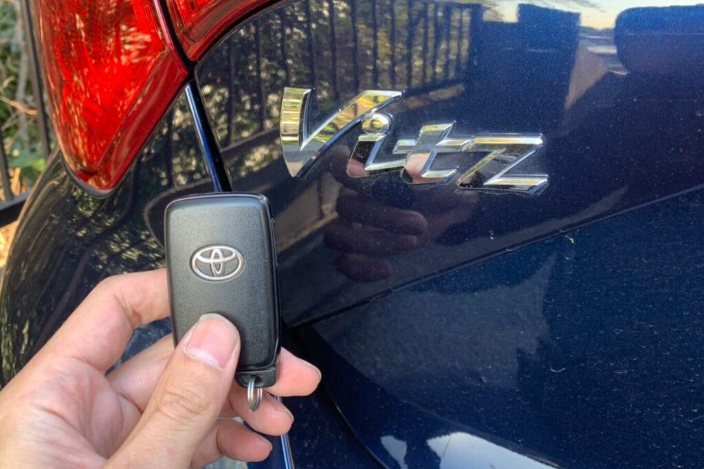 トヨタ ヴィッツの鍵紛失やスマートキー紛失に即日対応
