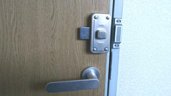 室内ドアに鍵の新規取り付け工事|即日でお伺いしその場ですぐ施工!