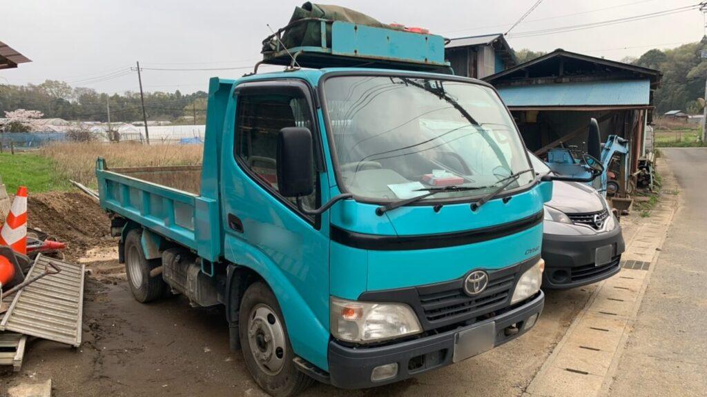 トヨタ ダイナ「トラック」の鍵紛失によるキー作製