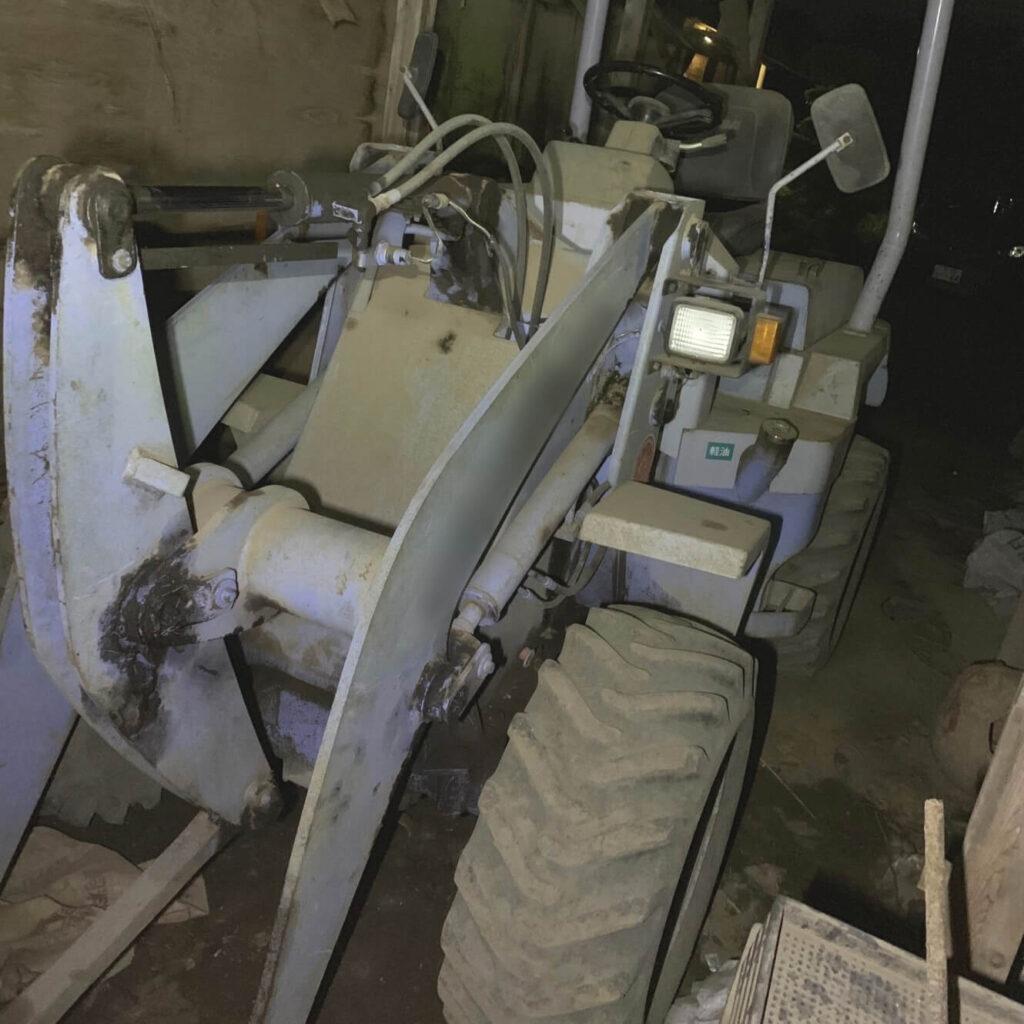 ショベルローダ「重機」の鍵紛失によるキー作製