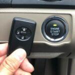 電池切れの場合はスマートキーをプッシュボタンに近づける