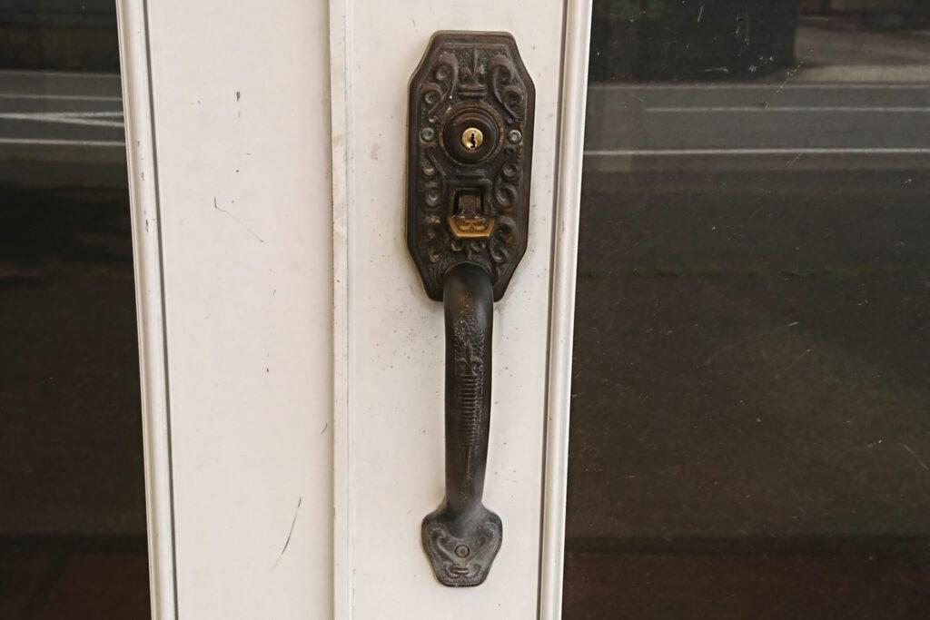 GOAL製のサムラッチ錠の分解修理に出張
