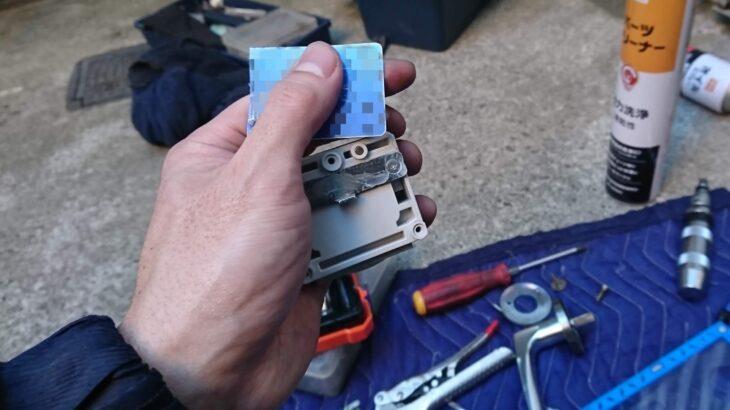 シャーロックのカードキーが折れた! 出張して抜き取り「分解修理」
