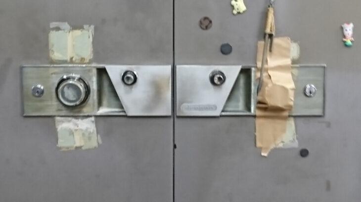 ドラゴン製の業務用金庫のダイヤル解錠|手探りできずダイヤル飛ばし