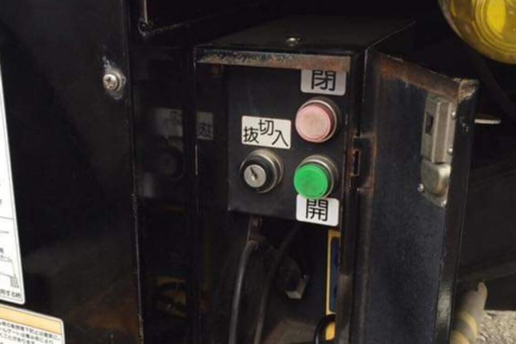トラックの昇降機の鍵紛失によるキー作製