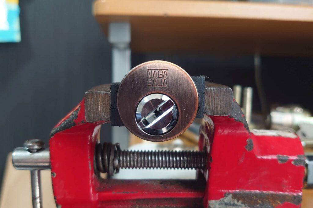 NAGASAWAディンプルキーをピッキング開錠