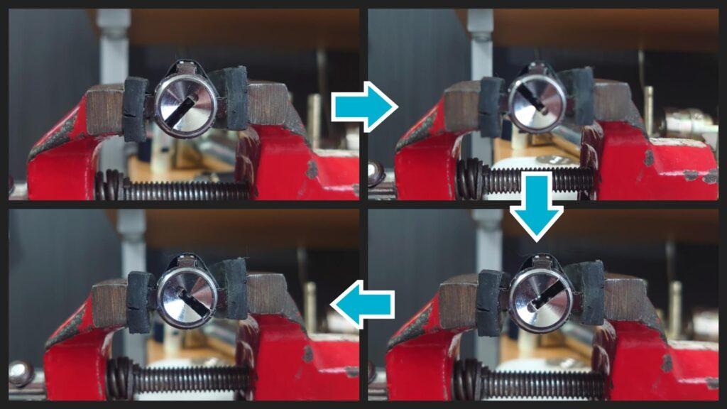 V18シリンダーはピッキングで解錠まで可能