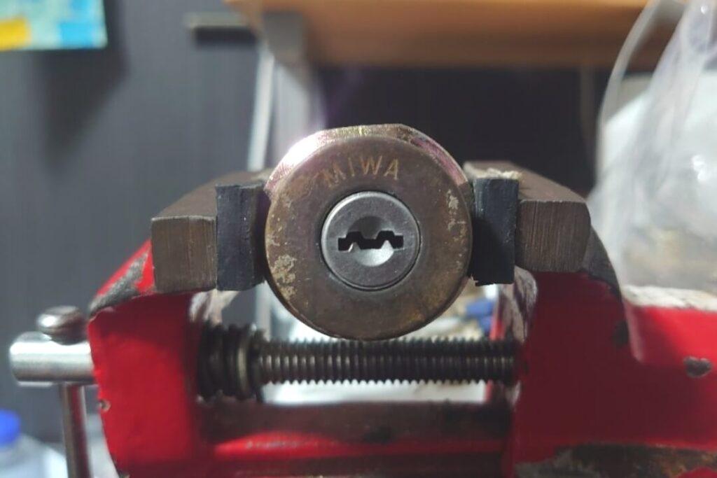 MIWA UXシリンダーのピッキング開錠に対応♪