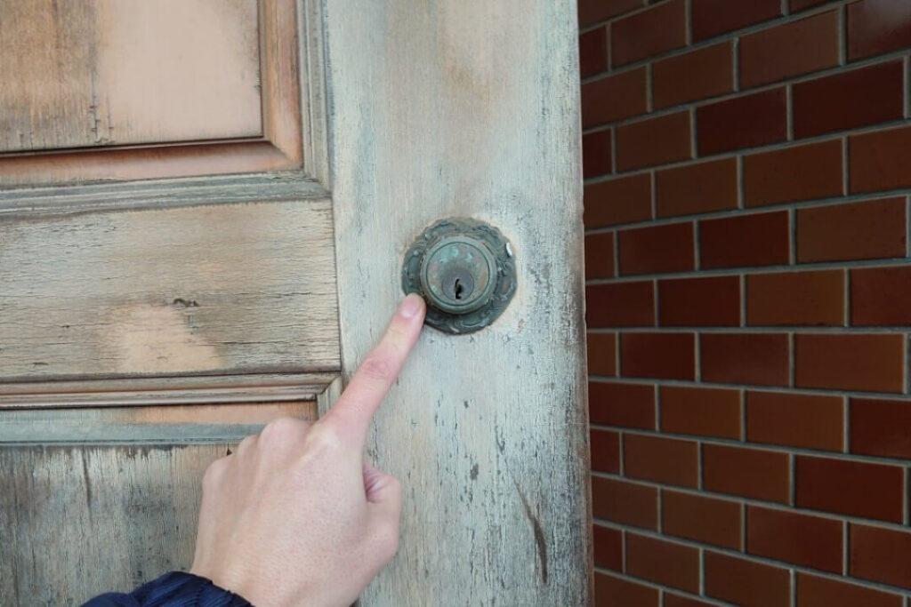 古代の本締錠の交換に出張対応