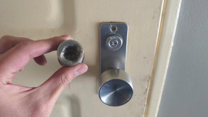 警察から強制執行のご依頼 玄関の鍵を壊して解錠&鍵交換に出張対応