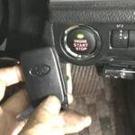 フォレスターのプッシュスタートボタン