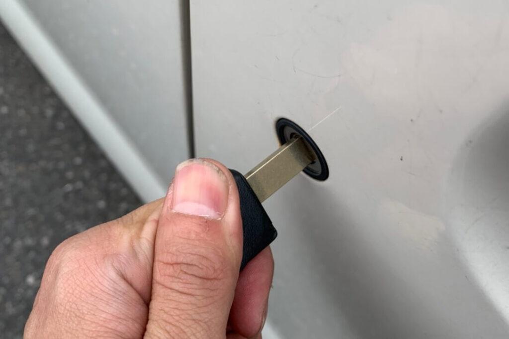 ゼストの鍵紛失による鍵作製