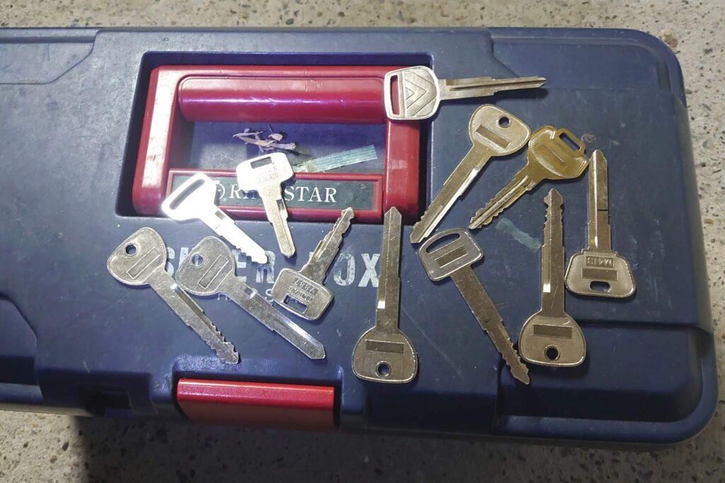 作製に失敗した鍵たち