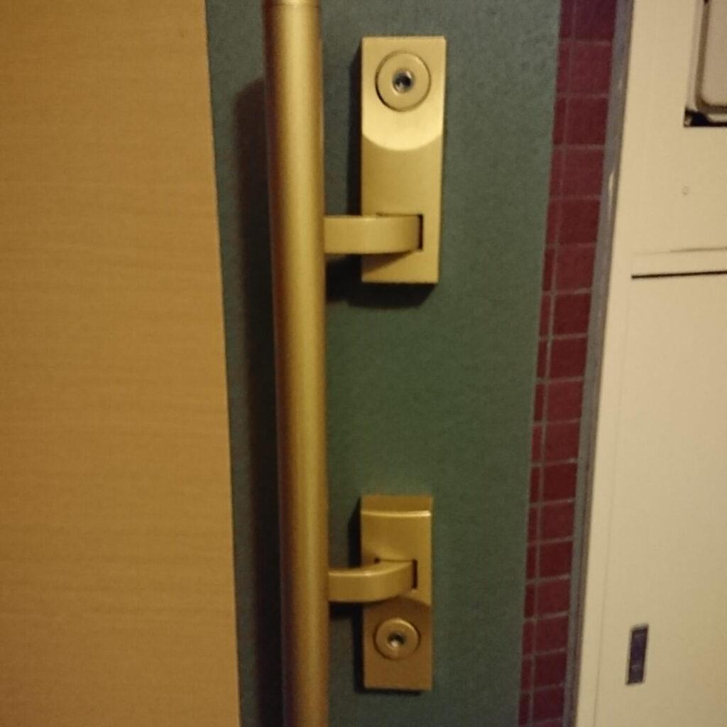 新しいマンションの玄関解錠依頼