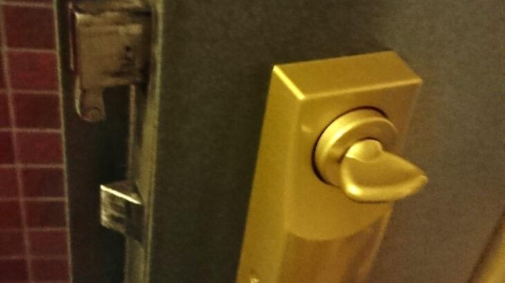 マンションの玄関解錠|MIWA製の偏芯サムターンを壊さず開けます
