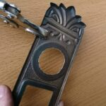 GOAL 大カムシリンダーの鍵交換|サイズが合わずその場で加工!