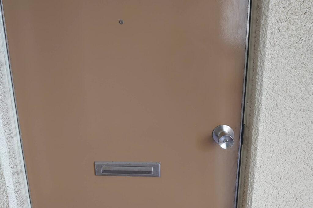 管理会社様からのご依頼でマンションの鍵交換に出張