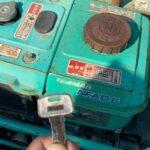 振動ローラー「重機」の鍵を全紛失したことによる鍵穴からのキー作製