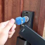 LIXILの電子錠の鍵交換|鍵穴だけ新品に交換することが可能です