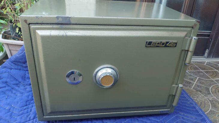家庭用金庫【LEAD45】が壊れたことによる破壊開錠
