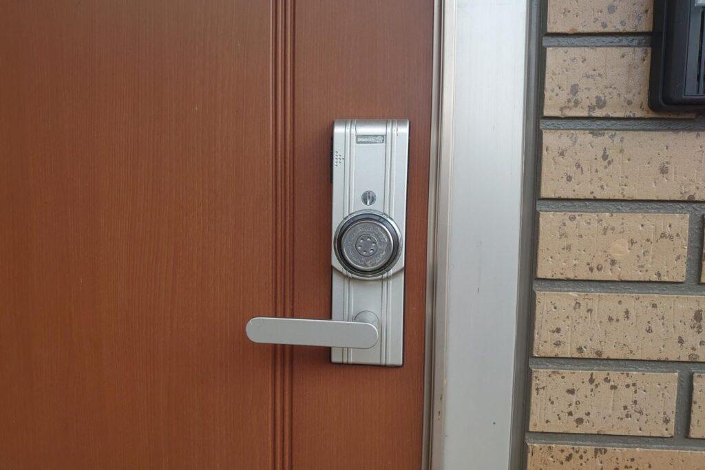 シャーロックの玄関開錠に出張!