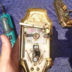 GOAL製サムラッチ錠の鍵が空回り|シャメールの鍵交換に即日対応
