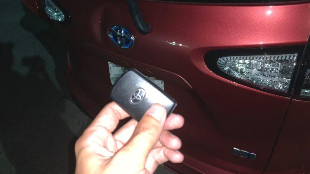 トヨタ シエンタの鍵トラブルに出張対応する鍵屋
