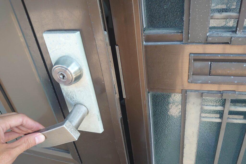 美和ロックの鍵紛失に出張対応する鍵屋さん