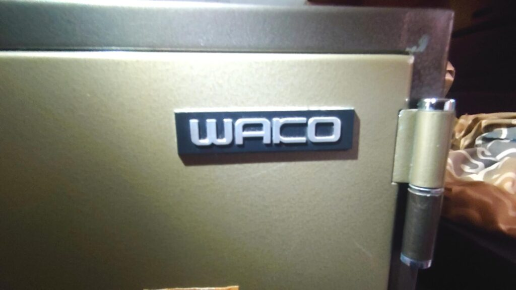 WAKO金庫はWACOと間違われやすい